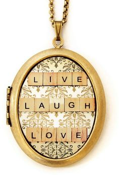 #Heartworks By Lori       #Necklaces                #Live #Laugh #Love #Locket #Necklace                Live Laugh Love Locket Necklace                                               http://www.snaproduct.com/product.aspx?PID=5859634