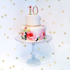 seconds of love - anniversary cake by www. Love Anniversary, Girl Cakes, Let Them Eat Cake, Wedding Details, Cake Decorating, Wedding Cakes, Tables, Sweets, Candy