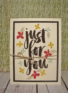 Stampin'Up! Botanicals for You