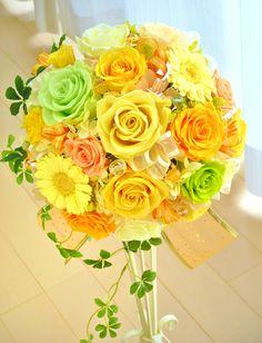 preserved flower WEDDING ITEM