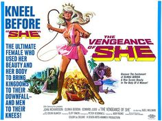 The Vengeance Of She - 1968 - Movie Poster