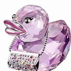 Swarovski duck