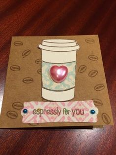 Holiday Coffee Lovers Blog Hop | My card, my craft