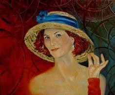 Painting Zalotna - Artist Krystyna Ruminkiewicz