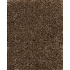 Balta�Luxury Shag 7-ft 10-in x10-ft Rectangular Brown/Tan Solid Area Rug | Lowes $418.10