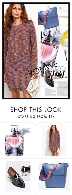 """""""Romwe 7"""" by deyanafashion ❤ liked on Polyvore featuring Lancôme and Murphy"""