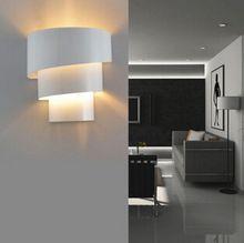 Haute Qualité Moderne Intérieur Led Mur Lampes chambre salon Ampoule Modifiable 110-220 V Lumière De Fer Décoration Élégante éclairage(China (Mainland))