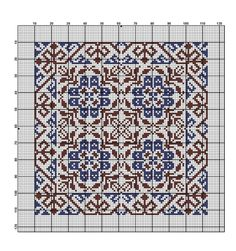 Cross Stitch Borders, Cross Stitch Alphabet, Cross Stitch Flowers, Cross Stitch Designs, Cross Stitching, Cross Stitch Patterns, Tapestry Crochet, Crochet Motif, Cross Stitch Cushion