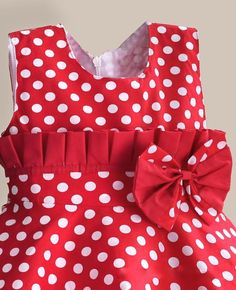 Department Name: ChildrenGender: GirlsDresses Length: Knee-LengthSilhouette: A-LineFit: Fits true to size, take your normal sizeStyle: CasualSleeve Length(cm): Polka Dot Summer Dresses, White Polka Dot Dress, Little Girl Dresses, Little Girls, Girls Dresses, Kids Frocks, Little Fashionista, Lace Embroidery, Vintage Style Dresses