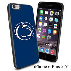 "NCAA LION PENNSYLVANIA STATE , Cool iPhone 6 Plus (6+ , 5.5"") Smartphone Case Cover Collector iphone TPU Rubber Case Black Phoneaholic http://www.amazon.com/dp/B00VVNIQBU/ref=cm_sw_r_pi_dp_1M1nvb1YATXN5"