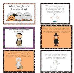 Halloween Lunchbox Notes Using Halloween Joke - free and printable  is a winning combination.  #halloween