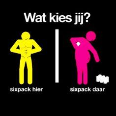 #watkiesjij Sixpack hier, Sixpack daar