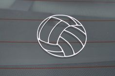 Volleyball Sticker Decal by ColoradoSports on Etsy, $5.00