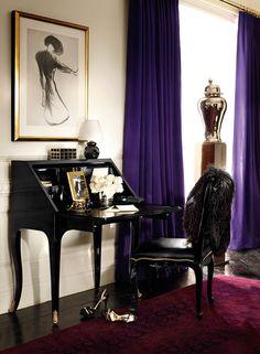 The Duchess Bureau & Duke Dining Chair from Ralph Lauren Home, Apartment No. One