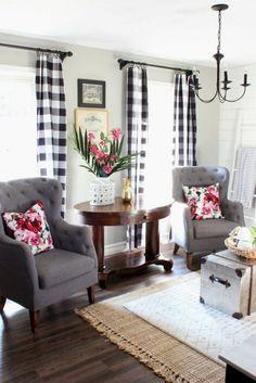 Insane modern farmhouse living room design ideas (24) #Modernkitchenshelves #modernfarmhouse