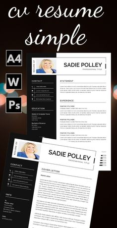 If you want to get hired for a job position, you must make a creative and impressive resume template instant download. Creating one isn't an arduous task if you know what's required and what's in demand in the industry. If you want to experience hassle-free resume editing. #CreativeResumeTemplate #TeachingResume #ResumeTemplateInstantDownload #ResumeAndCoverLetterTemplate #ModernResume Hr Resume, Infographic Resume, Nursing Resume, Student Resume, Resume Help, Teaching Resume Examples, Resume Objective Examples, Good Resume Examples, Resume Action Words