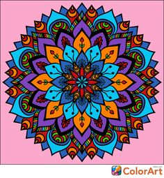 I just colored this beautiful picture with the ColorArt app!