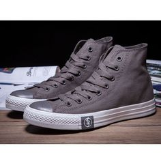Converse Shoes Grey The Flash Classic High