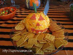 Halloween party snacks