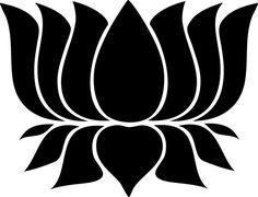 Egiptian Lotus Sticker Decal - Car Decal, Bumper Sticker, Laptop Decal, Wall 005 #VicStickerDecals #SelfAdhesiveandreadytostickdecal