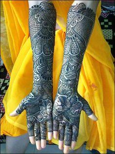 Mehndi Designs For Hand - Marwari Mehndi