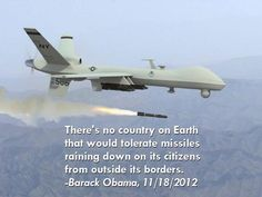 This, coming from the Drone President?