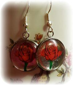 Handpainted rose
