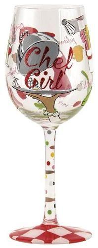 be23c5f20217  Chef Girl  Wine Glass by Lolita (Hula Island)