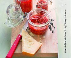 Rezept Tomaten-Himbeer-Konfitüre mit Gewürzen und Olivenöl von Cornelia Poletto - Rezept der Kategorie Saucen/Dips/Brotaufstriche