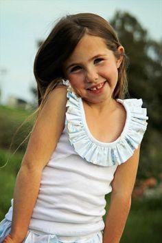 DIY Ruffle : DIY ruffles 2012 guest: girl. inspired.   : DIY Clothes DIY Refashion
