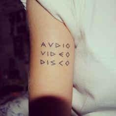 Tattooed Text Art That's Truly Terrific