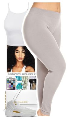 """Untitled #139"" by daijahhill25 ❤ liked on Polyvore featuring LE3NO and NIKE"