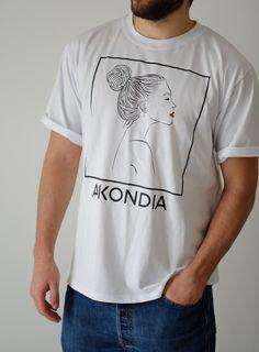 Image of T-SHIRT ''AKONDIA''  White