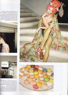 Karlie Kloss Vogue UK Paris