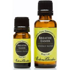 Breathe Easier is considered uplifting & revitalizing antiseptic. Both warming & cooling, it helps combat the effects of the cold and flu.
