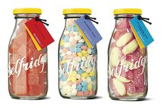 Selfridges traditional British sweets — Designer unknown