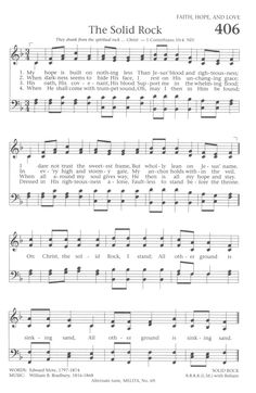 Baptist Hymnal 1991 406. My hope is built on nothing less - Hymnary.org
