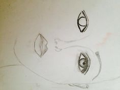 unfinished soul- Antonella Pachta 2015 Art Sketches