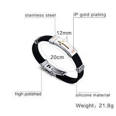 Meaeguet Classic Stainless Steel Cross Bracelet