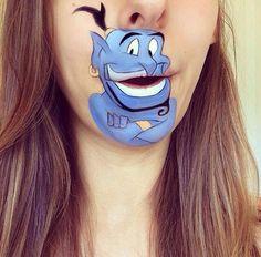 Cool Lip Makeup   cool-lip-makeup-characters-Genie