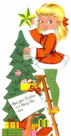 Vintage Greeting Cards Christmas Valentines von TheVintageGreeting