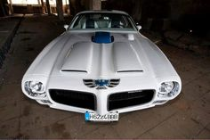 Firebird Formula with Ram Air and shaker, plus a hood tach.