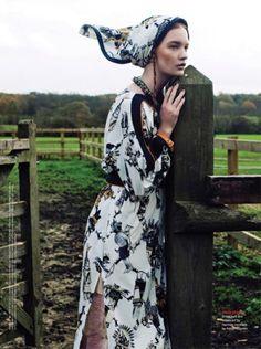 Hong Kong Tattler. Models: Valerie van der Graaf and Johanna Fosselius…