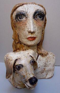 j'ai eu la chance de voir une exposition de TERESA GIRONES à la Borne. j'aime.