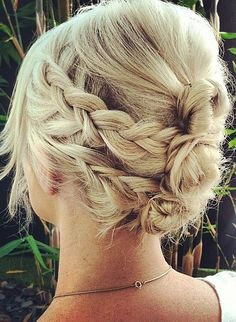 Got a special occasion this summer? Try this braided updo for a romantic look with plenty of impact.