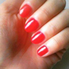 #red #nail #hybrydy #manicure #dzwoneczkowyrajmamy