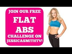 Welcome to Our Flat Abs Challenge! | SUBSCRIBE TO JOIN - Begins July 1st, 2014!