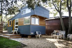 """After building his first 230-square-foot """"tiny home,"""" James Stoltzfus has started a new business, Liberation Tiny Homes, in Lancaster in hopes of selling them."""