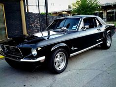 68 Ford Mustang Coupe -> my first REAL car! (Ford Mustang)