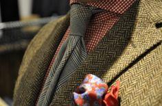 tweed. herringbone
